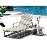 Mejor Hamaca plegable Tumbona Muebles de jardín al aire libre del césped del patio trasero del hotel