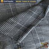 人のジャケットの衣服のための100%年のポリエステル印刷の倍の側面のビロードファブリック