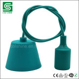 Свет пластмассы силикона привесной для светильника света шарика E27 Es низкопробного