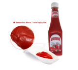 340g Ketchup com garrafas de PE