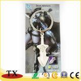 Catena chiave della spada del metallo innovatore dell'anello portachiavi per i regali di promozione