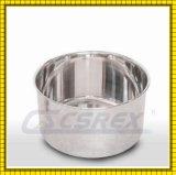 こね粉ミキサーのための深い引かれたAISI 304 Ssのステンレス鋼ボール