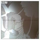 シルクスクリーンの印刷を用いる10mmの陶磁器のフリットの緩和されたガラス