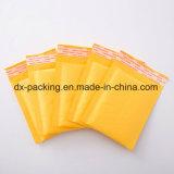 Sacchetto espresso di colore giallo del sacchetto del pacchetto dell'involucro di bolla del sacchetto di bolla della busta della bolla del sacchetto di bolla del documento di Brown