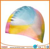 Дешевая крышка заплывания силикона печатание с картиной