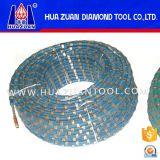 De Zaag van de Draad van de diamant met Plastiek voor Graniet/Gewapend beton Knipsel Blcok