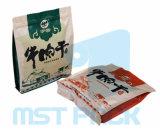 플라스틱 편평한 바닥 상자 주머니 식품 포장 부대