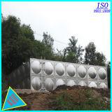 Acier inoxydable buvant le réservoir de stockage boulonné de l'eau