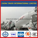7-9 Cbm HOWO Cement die Trommel mengen die Vrachtwagen mengen