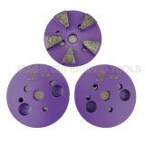 3 pouce 5 Seg disque de meulage magnétique pour le béton d'une meuleuse