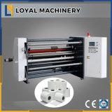 Máquina que raja de alta velocidad de papel compuesta con el eje del resbalón