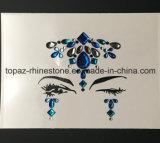 Стикер Tattoo тела временно стороны стикера угла глаза Tattoo кристаллический кристаллический (S033)