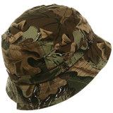 [منس] يصطاد قبعة عسكريّة يوسع حاجة دلو غطاء قبعة