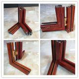 Aluminium thermique d'isolation thermique d'interruption/de type classique et guichet de tissu pour rideaux en verre