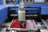 Etiqueta de cuidado de la máquina de impresión automática de pantalla con el ahorro de energía