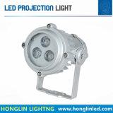 정원 옥외 방수 LED 지면 Intiground 9W LED 투광램프