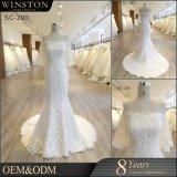 Bestes Qualitätsnixe-Hochzeits-Kleid China gebildet