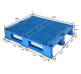 Используемых для перевозки 1200X1000 для тяжелого режима работы пластмассовый поддон с HDPE