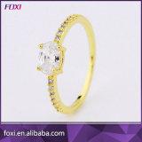 Gouden Plaat van de Ringen van het Ontwerp van de Fabrikant van China de Nieuwste Enige 18k