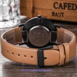 숙녀 (WY-17011D)를 위한 주문 로고 여자 석영 시계 형식 손목 시계