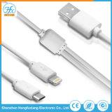 Kundenspezifisches Firmenzeichen-Drucken-Daten USB-Aufladeeinheits-Kabel für Handy