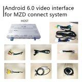 Mazda Mx 5 Mzd를 위한 인조 인간 6.0 GPS 항법 상자는 영상 공용영역 손잡이 통제 Waze를 연결한다