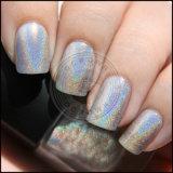 Лазерный Holo порошок, эффект голографический лак для ногтей - Блестящие цветные лаки хром пигмента
