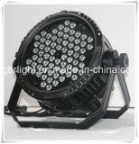 72PCS*3W impermeável 3 em 1 luz da PARIDADE do diodo emissor de luz da lavagem da parede do diodo emissor de luz do poder superior