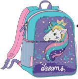 Sac à dos de licorne de Sequins, sac d'école de Sequins