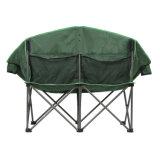 Im Freien kampierende faltende doppelte Mond-Stühle für das Kampieren, fischend, Strand-, Picknick-und Freizeit-Gebrauch