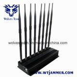 De hoge Stoorzender van de Telefoon van de Macht 3G 4G Mobiele en de UHFStoorzender van VHF WiFi