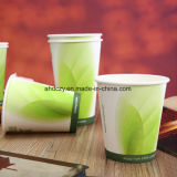 Usa mejor Eco friendly 7oz desechables de papel de pared simple taza de café