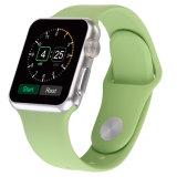 para o silicone 38mm/42mm da faixa de relógio de Apple, faixa do silicone para o esporte da cinta de relógio de Apple