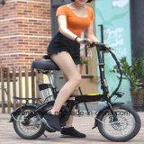 ペダルは電気折る自転車がとの電池を除去する電気バイク14inchの電気バイクを助けた