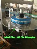 De ronde Machine van de Sticker van de Etikettering van de Lijm OPP van de Drank van CDD van de Fles Hete