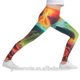 최신 판매 주문품 다채로운 인쇄된 스포츠 요가 Legging