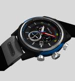 上の方法良質はロゴによって印刷された防水スポーツのシリコーンの腕時計をカスタマイズした