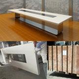 أكريليكيّ اصطناعيّة حجارة [بوأدرووم] مكتب حديثة [كنفرنس رووم] [ميتينغ تبل] تصميم