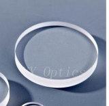 Verre saphir optique ovale galette Ellipse de Windows utilisée sur l'équipement médical