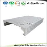 Extrusión de aluminio de diseño nuevo disipador para gabinete amplificador para el coche con la norma ISO9001