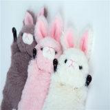 2017 새로운 귀여운 동물성 토끼 견면 벨벳 셀룰라 전화 홀더