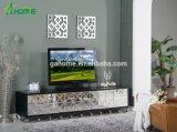 Kabinet van TV van de Woonkamer van het Ontwerp van de luxe het Moderne met Spiegel