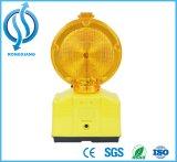 Солнечный предупредительный световой сигнал с кронштейном для конуса движения