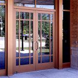 Exterior puertas francesas /frente externo Doo Puertas de entrada de madera