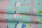 70のためにセットされるカスタマイズされた前洗いされた耐久の心地よい寝具によってキルトにされる1部分のベッドカバーのCoverlet
