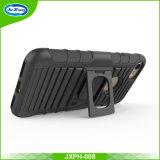 Tampa móvel de borracha Multifunctional clássica para o iPhone 8/7 de caso plástico com o suporte do telefone do carro
