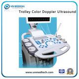 Тележка цветного доплеровского ультразвукового сканера машины медицинской ультразвуковой системы диагностики