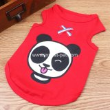 ペット供給小さいペット衣類Apprarelは、かわいい漫画犬Tシャツに着せる
