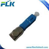 Adaptateur inférieur d'émetteur récepteur de perte de fibre optique nue uni-mode de Sc/FC/St