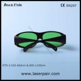 Anteojos de la protección del laser para el laser del diodo rojo Laser/808nm y 980nm de Laserpair